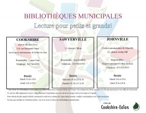 Affiche Bibliothèque 2020