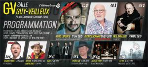 Programmation 2015 - Salle Guy-Veilleux