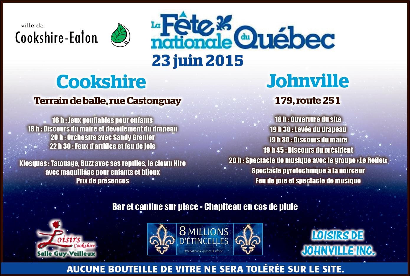 Fête nationale du Québec 2015
