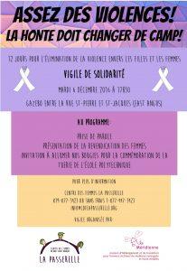 centre des femmes- 6 décembre 2016