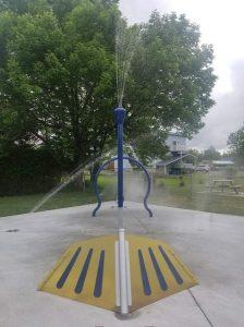 Jeux d'eau - Sawyerville