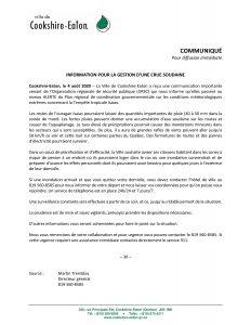 2020-08-04 Communiqué prévention inondation